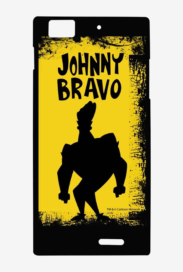 Johnny Bravo Yellow Grunge Case for Lenovo K900