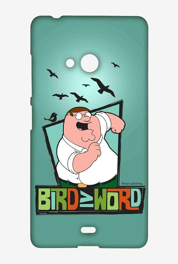 Family Guy Bird Word Case for Microsoft Lumia 540