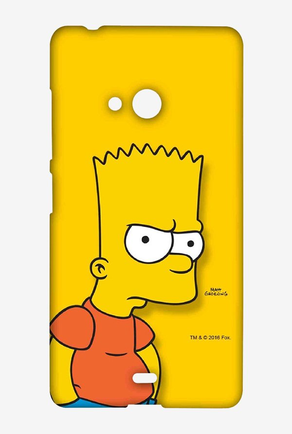 Bart Simpson Case for Microsoft Lumia 540