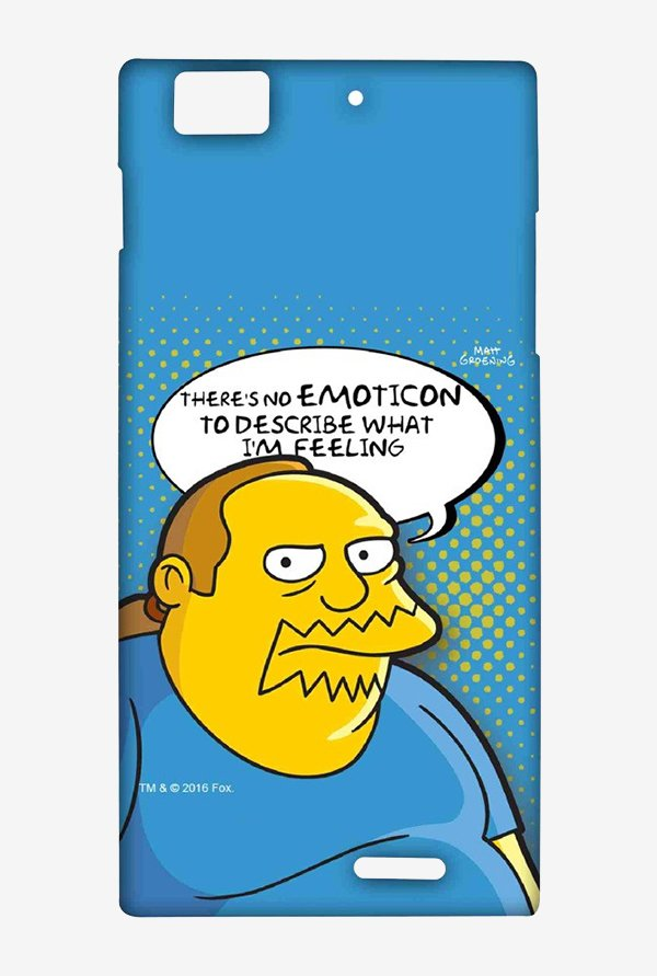 Simpsons Comic Guy Case for Lenovo K900