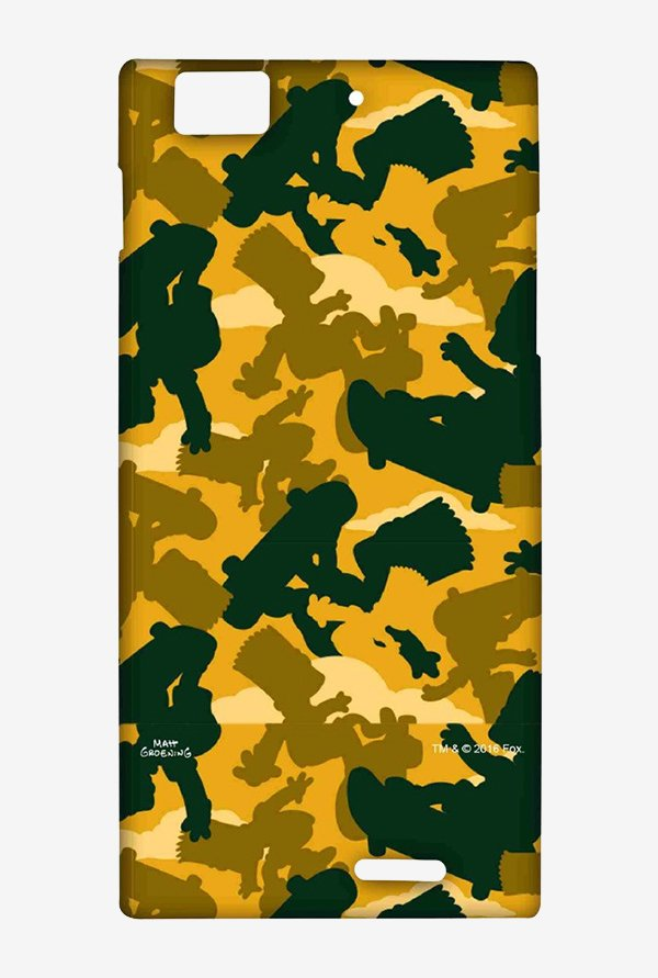 Simpsons Camo Bart Case for Lenovo K900