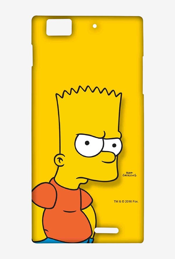 Bart Simpson Case for Lenovo K900