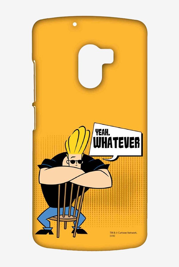 Johnny Bravo Yeah Whatever Case for Lenovo K4 Note