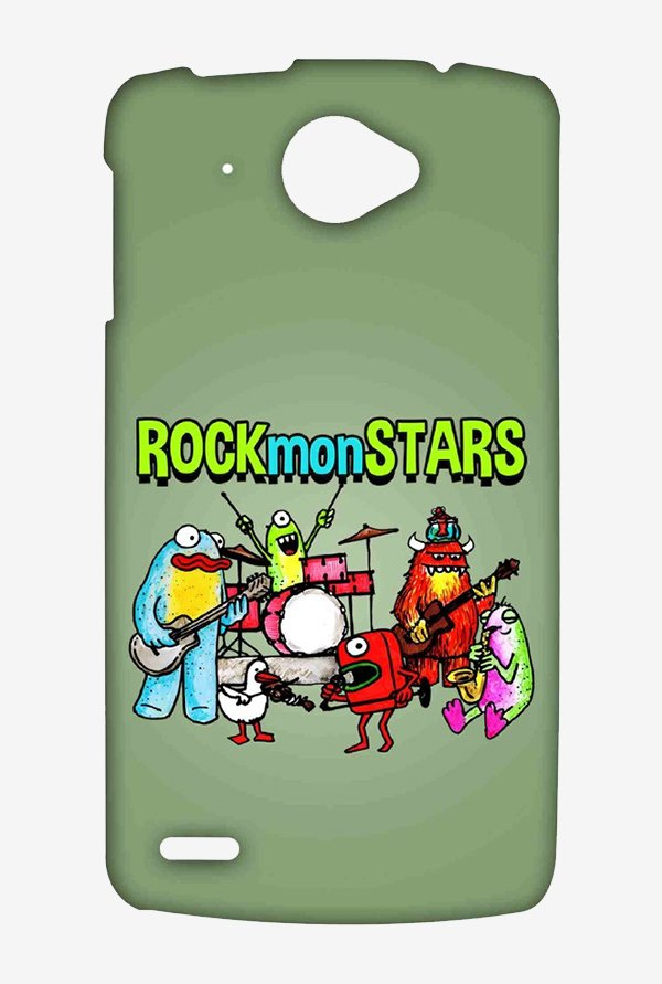 Kritzels Rockmonstars Case for Lenovo S920