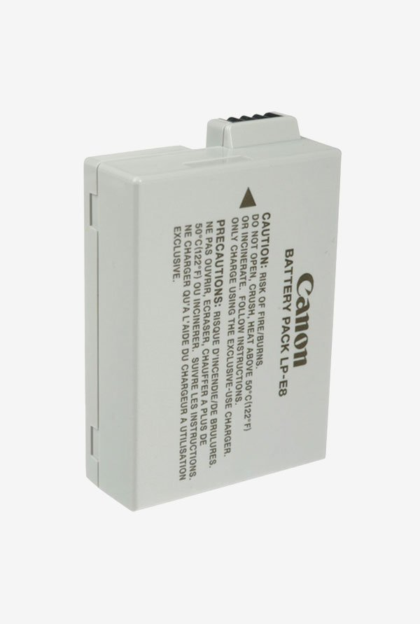 Canon LP-E8 Battery Pack for EOS Rebel (White)