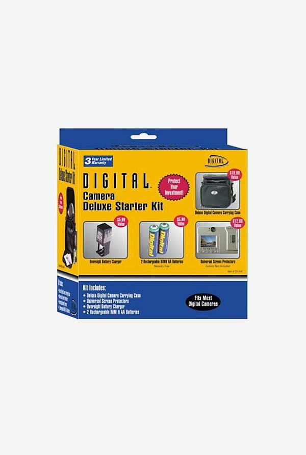 Sakar DC-547 Digital Concepts Digital Camera Starter Kit