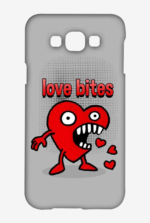 Kritzels Love Bites Case for Samsung Galaxy E7