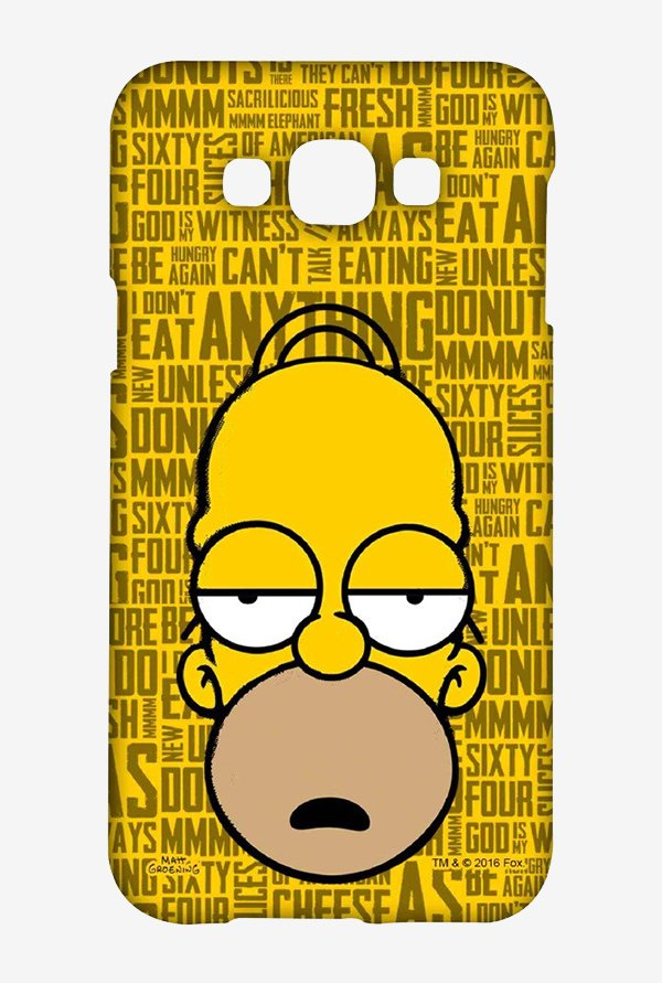 Simpsons Homer Says Case for Samsung Galaxy E7