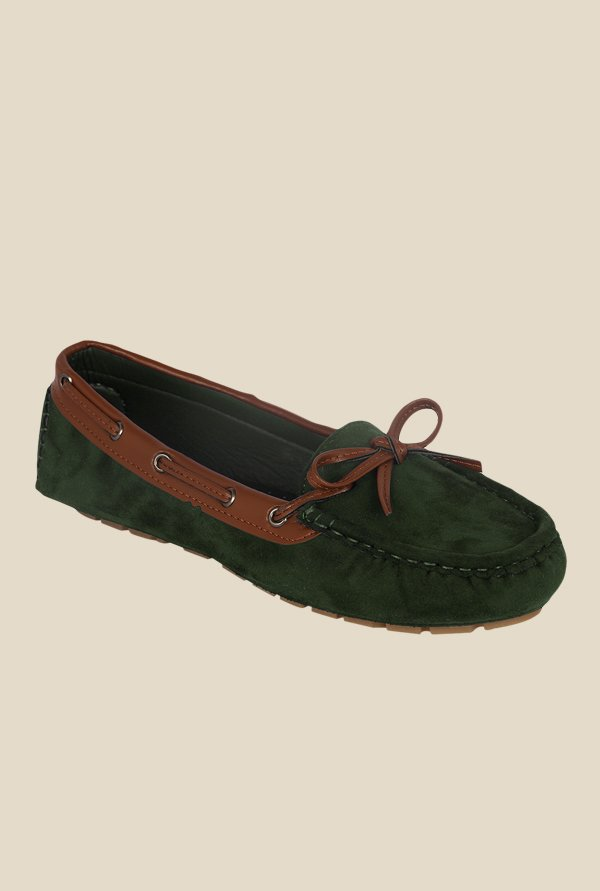Kielz Green Boat Shoes