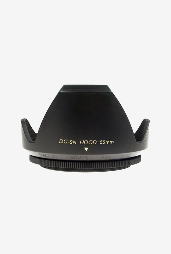 Mennon DC-SN 55mm Flower Lens Hood with Cap (Black)