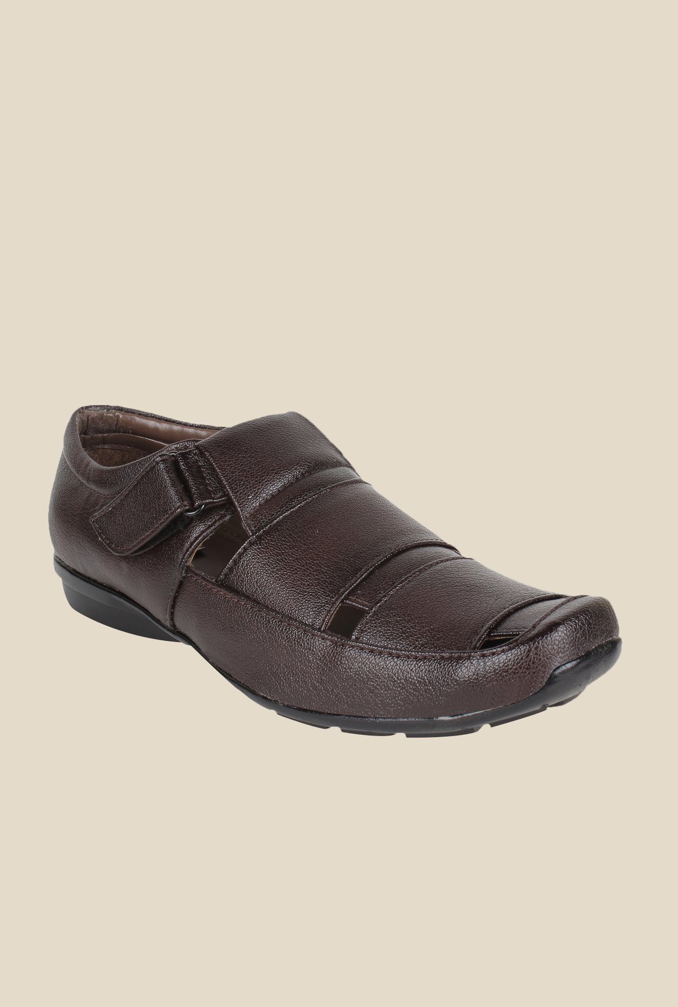 Rexler Brown Fisherman Sandals