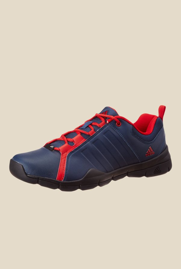 Adidas Outrider Navy & Red Running Shoes