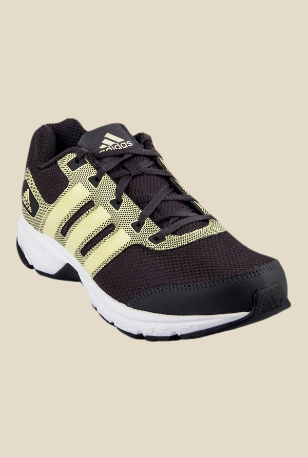 Adidas Alcor 1.0 Black & Yellow Running Shoes