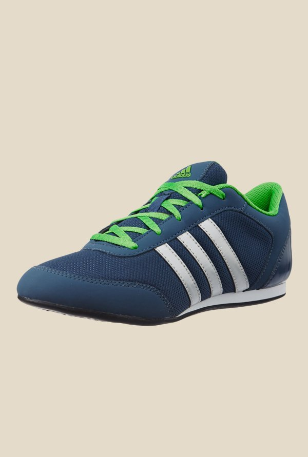 Adidas Vitoria II Navy & Green Running Shoes