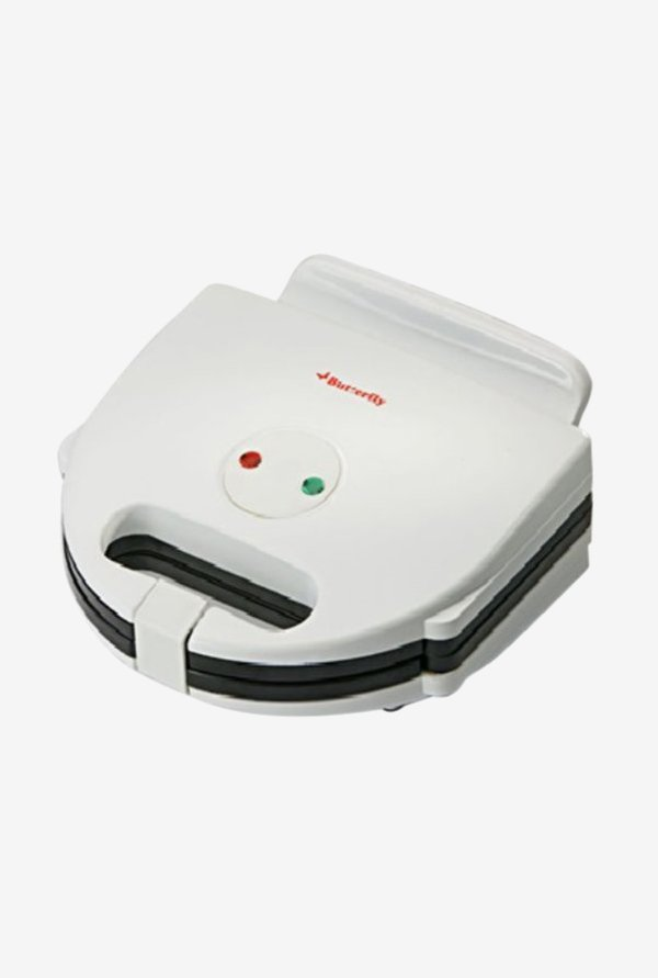 Butterfly AGSW108 750 W Sandwich Maker (White)