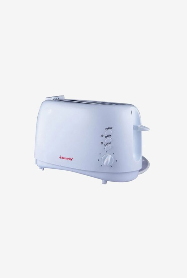 Butterfly AG019 750 W Pop Up Toaster (White)