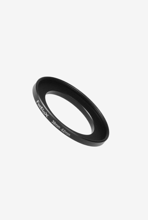 Fotodiox 04SR3952 39-52mm Metal Step-Up Ring (Black)