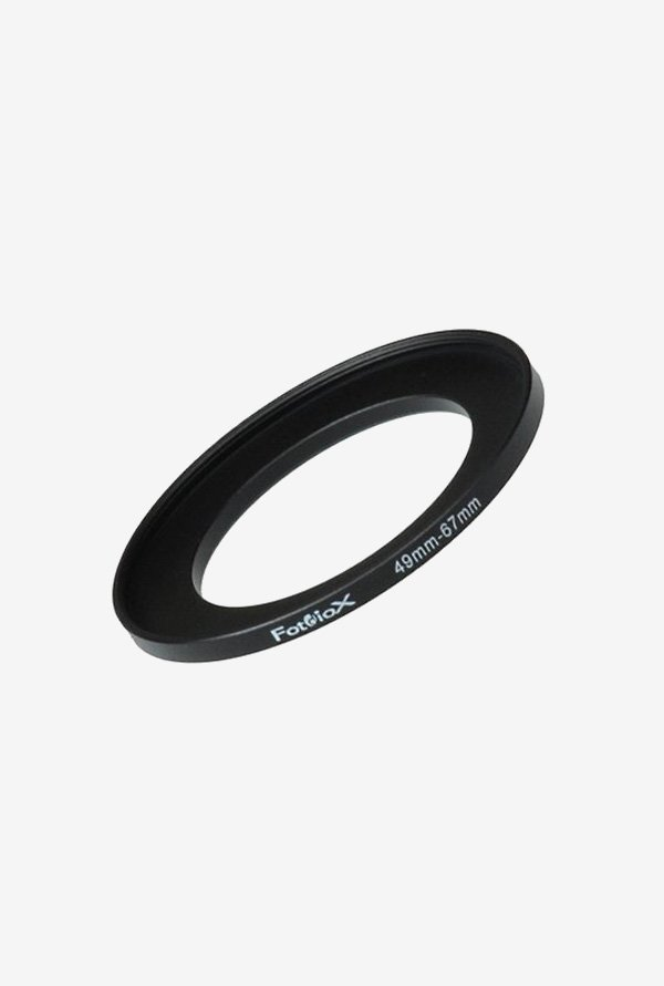 Fotodiox 04SR4967 49-67mm Metal Step-Up Ring (Black)