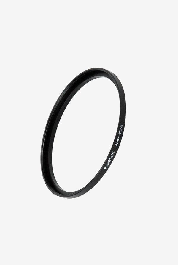 Fotodiox 04SR8286 82-86mm Metal Step-Up Ring (Black)