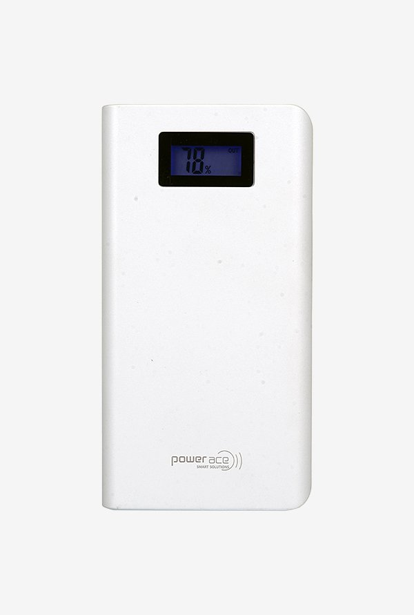 Power Ace PRP 15600L 15600 mAh Power Bank (White)