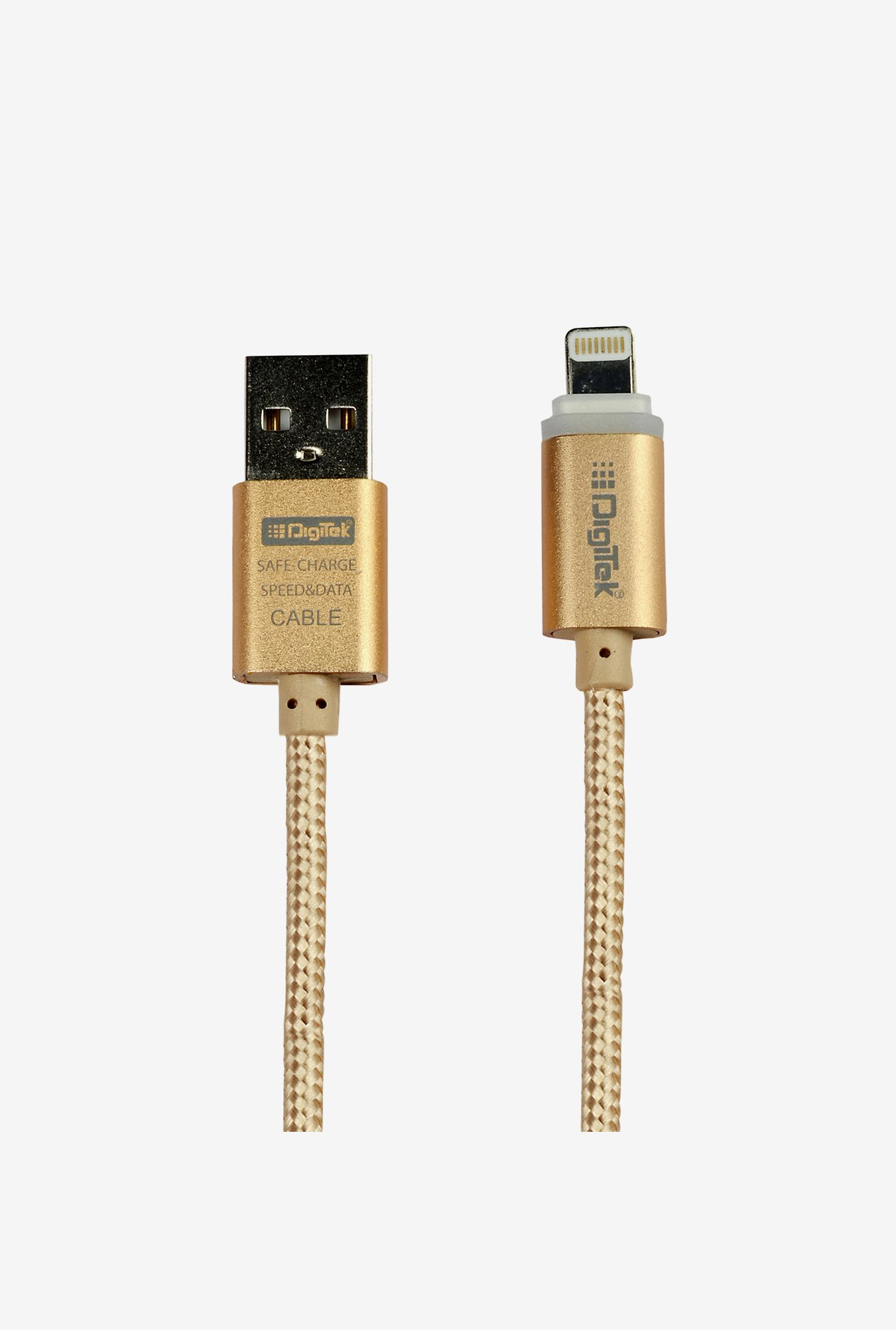 Digitek DC1M i6P Lightning Cable (Gold)