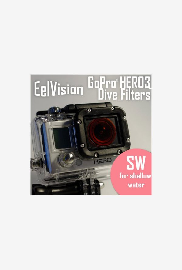 EelVision Snorkeling Filter (SW) for GoPro HERO4/3 (Black)