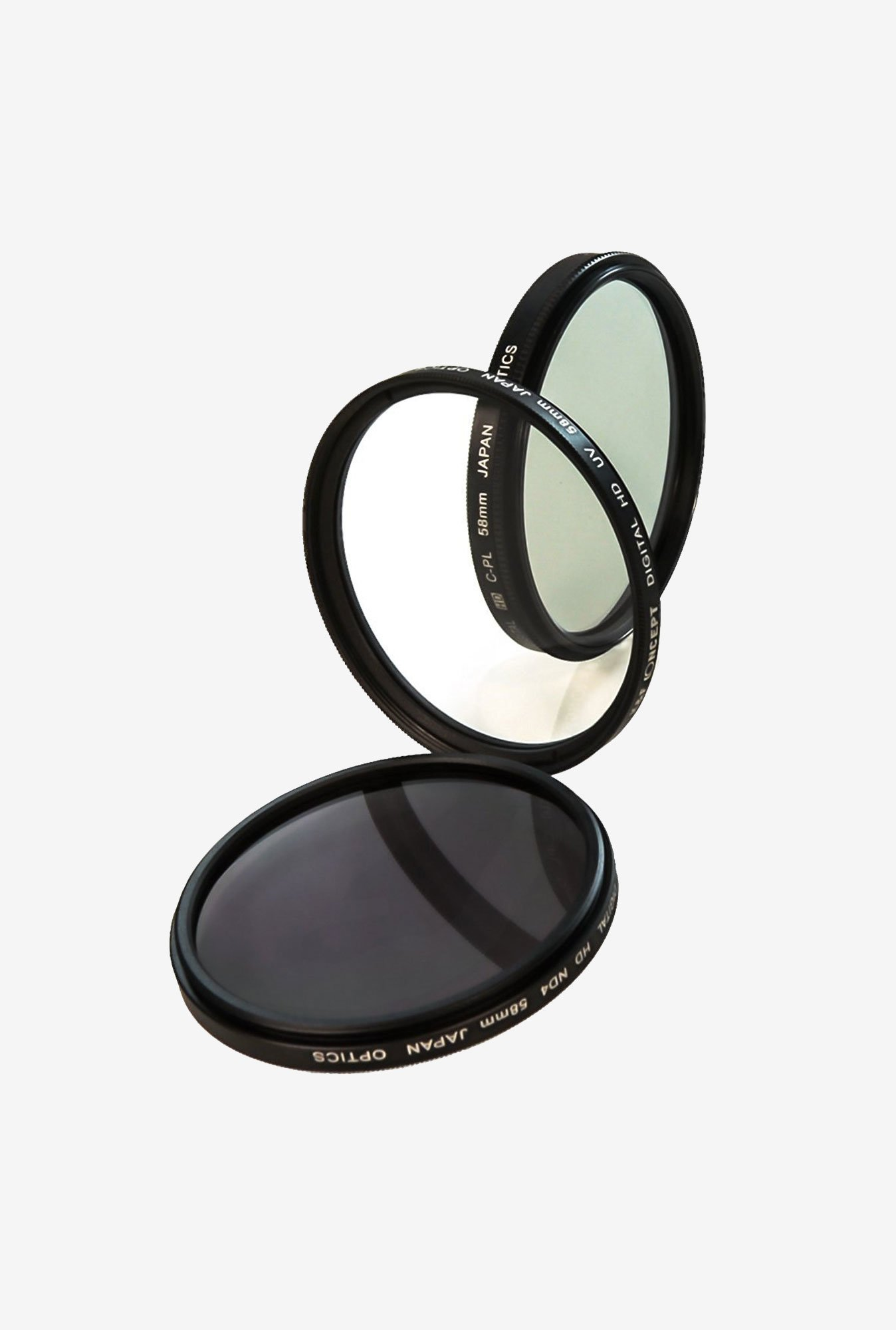 Cam Design 58 mm Professional Lens Filter Accessory Kit