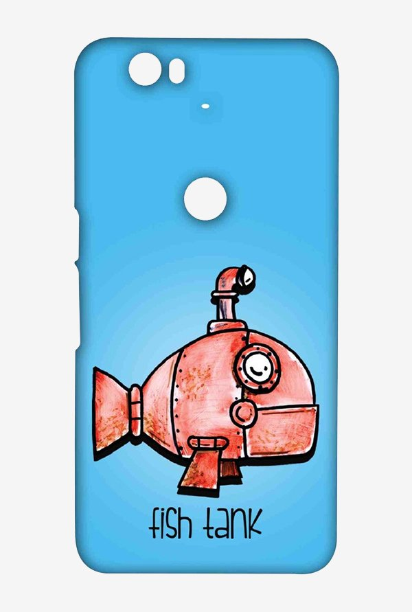 Kritzels Fish Tank Case for Huawei Nexus 6P