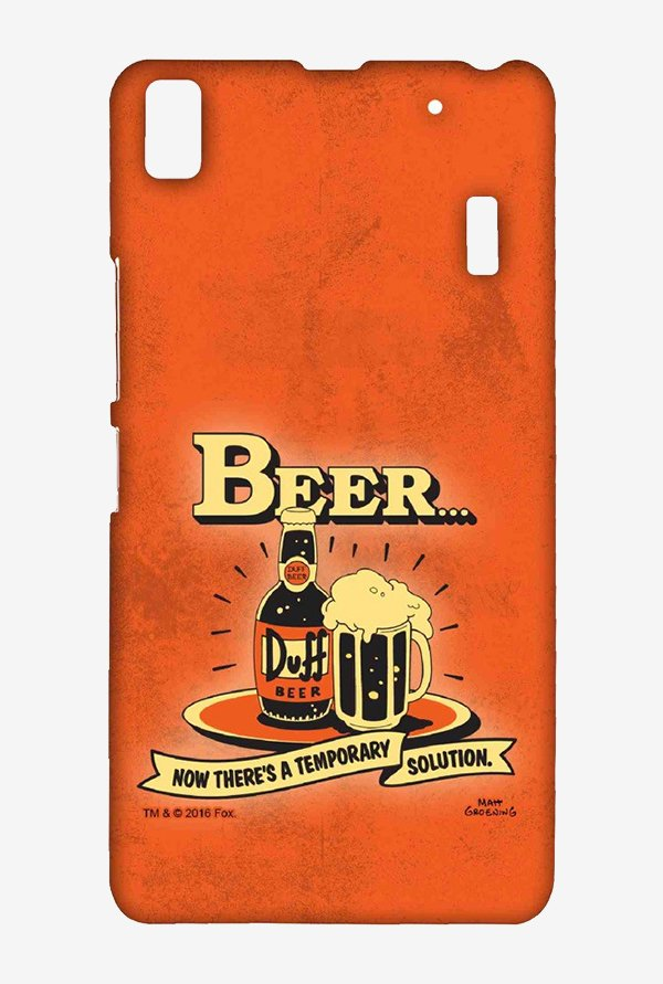 Simpsons Temporary Solution Case for Lenovo K3 Note