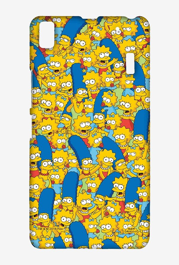 Simpsons Pattern Case for Lenovo K3 Note