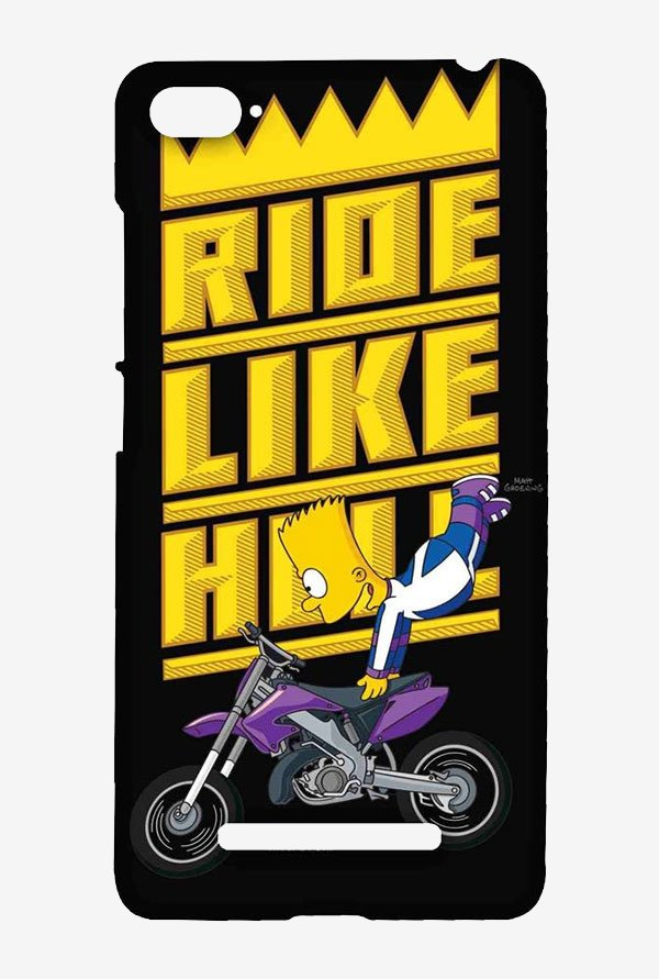 Simpsons Ride Like Hell Case for Xiaomi Mi4i