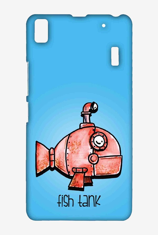 Kritzels Fish Tank Case for Lenovo K3 Note