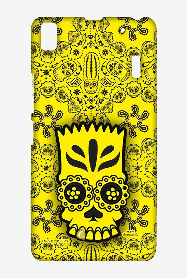 Simpsons Celtic Bart Case for Lenovo K3 Note