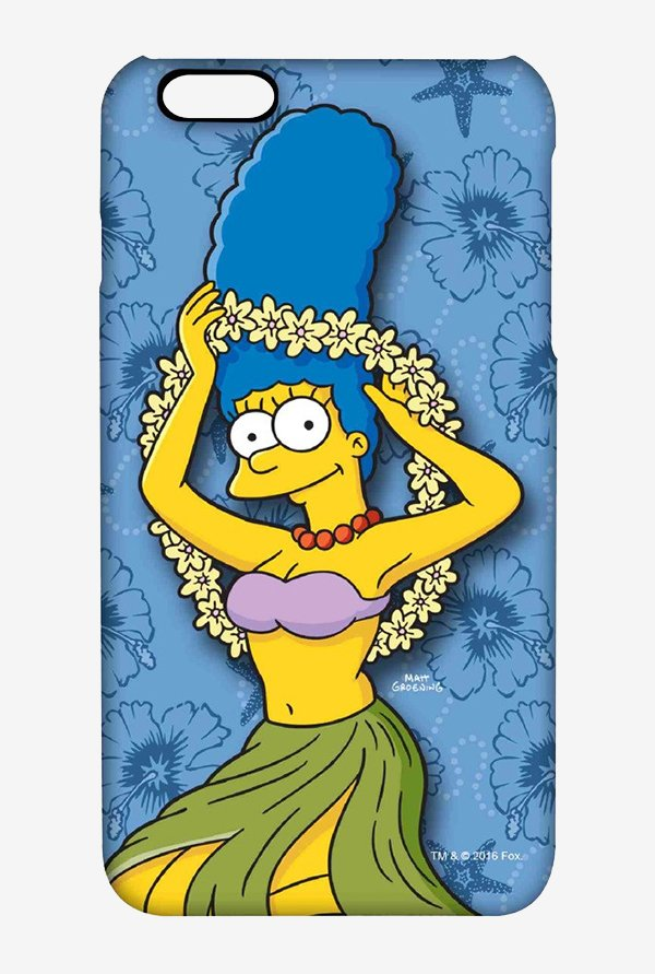 Simpsons Marge Hawaii Case for iPhone 6 Plus