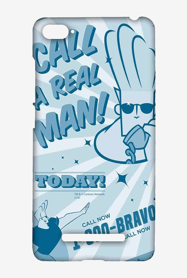 Johnny Bravo The Real Man Case for Xiaomi Mi4i