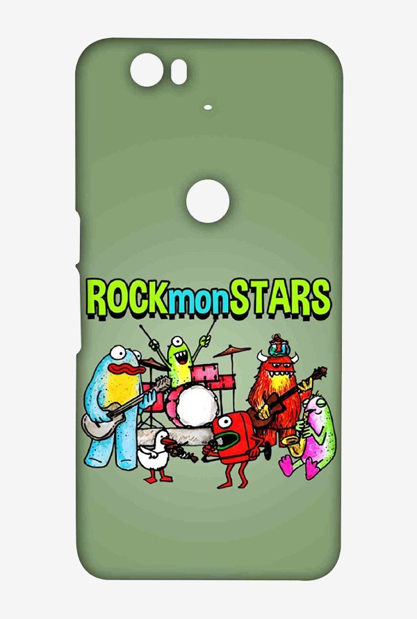 Kritzels Rockmonstars Case for Huawei Nexus 6P