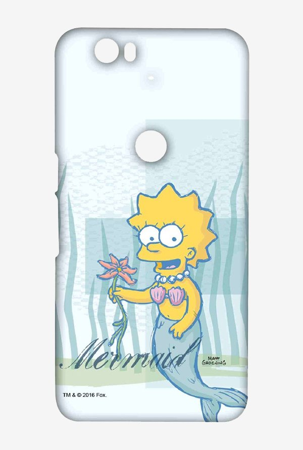Simpsons Mermaid Case for Huawei Nexus 6P