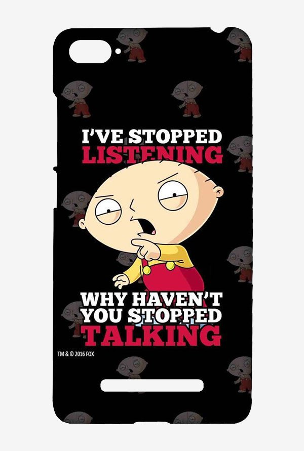 Family Guy Just Stop Talking Case for Xiaomi Mi4i