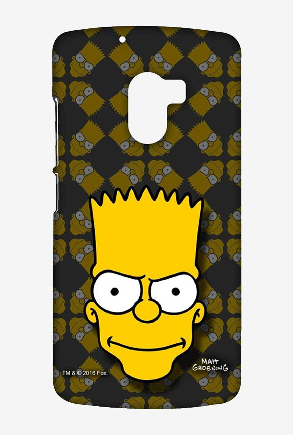 Simpsons Bartface Case for Lenovo K4 Note