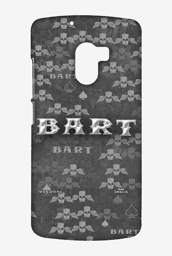 Simpsons Bart Wings Case for Lenovo K4 Note