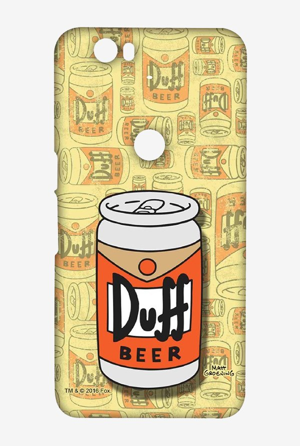Simpsons Duff Beer Case for Huawei Nexus 6P