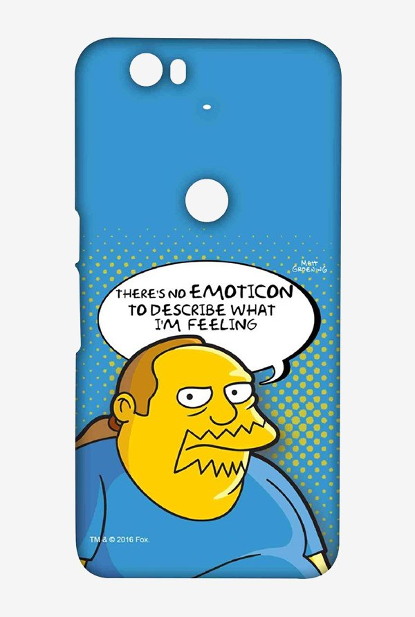 Simpsons Comic Guy Case for Huawei Nexus 6P