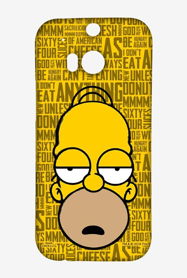 Simpsons Homer Says Case for HTC One M8
