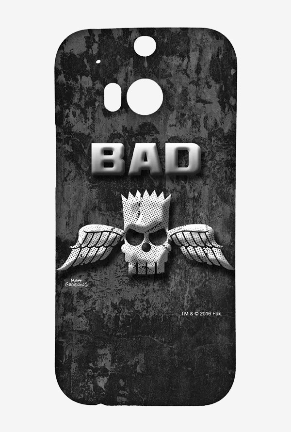 Simpsons Cracked Wall Bart Case for HTC One M8