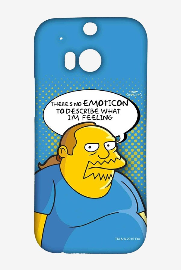 Simpsons Comic Guy Case for HTC One M8