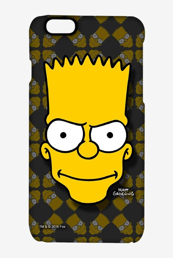 Simpsons Bartface Case for iPhone 6
