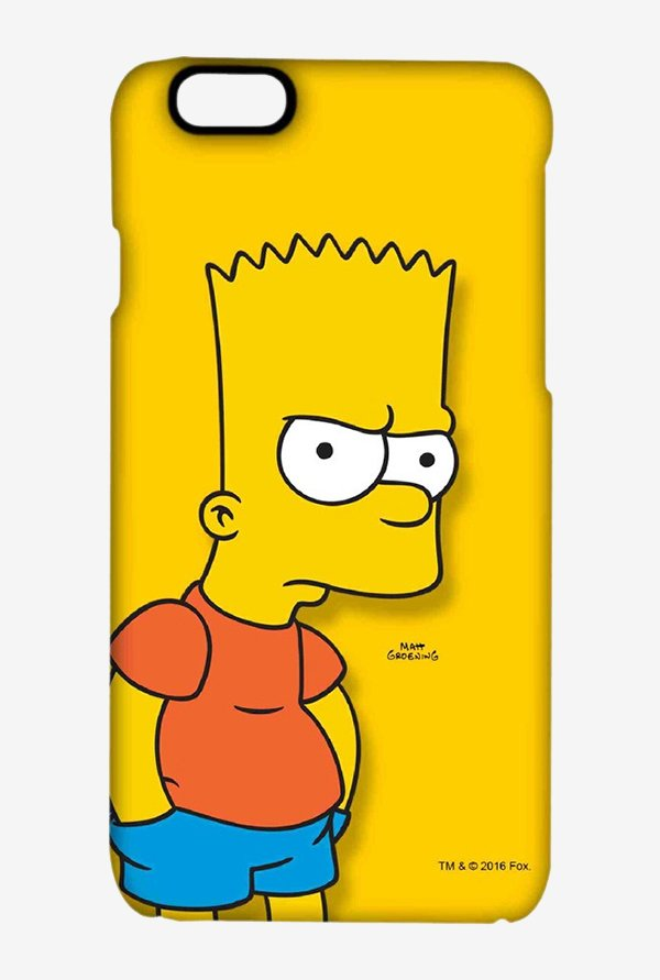 Bart Simpson Case for iPhone 6