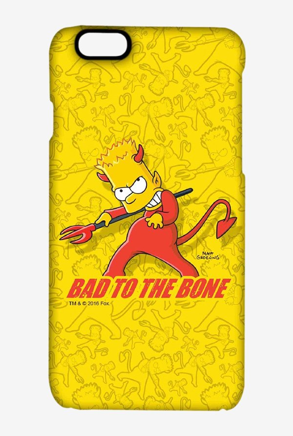 Simpsons Bad To The Bone Case for iPhone 6