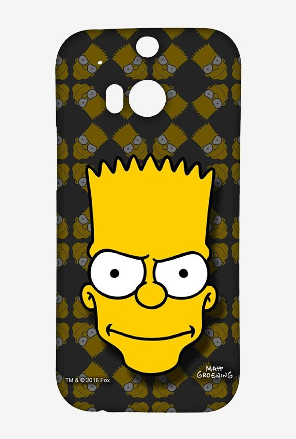 Simpsons Bartface Case for HTC One M8
