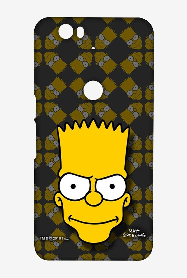 Simpsons Bartface Case for Huawei Nexus 6P